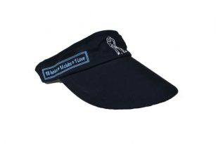 '1st Love Visor' Headwear - Navy - Yootopea Golf Apparel