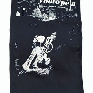Up Hill Battle T-shirt folded - Yootopea Golf Apparel