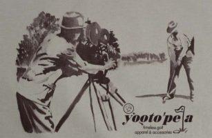 Swing Balance T shirt - Yootopea Golf Apparel